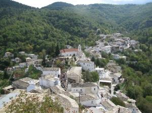Το χωριό Καστάνιτσα